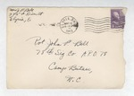 Jack P. Bell World War Two Correspondence #189