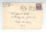 Jack P. Bell World War Two Correspondence #191