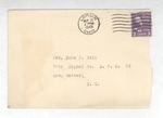 Jack P. Bell World War Two Correspondence #197