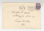 Jack P. Bell World War Two Correspondence #199