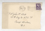 Jack P. Bell World War Two Correspondence #201