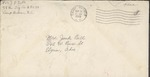 Jack P. Bell World War Two Correspondence #202