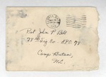 Jack P. Bell World War Two Correspondence #203