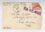 Jack P. Bell World War Two Correspondence #205
