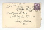 Jack P. Bell World War Two Correspondence #210