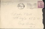 Jack P. Bell World War Two Correspondence #211