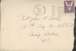 Jack P. Bell World War Two Correspondence #215