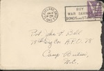 Jack P. Bell World War Two Correspondence #216