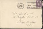 Jack P. Bell World War Two Correspondence #216