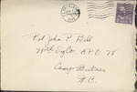 Jack P. Bell World War Two Correspondence #217