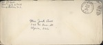 Jack P. Bell World War Two Correspondence #218