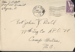 Jack P. Bell World War Two Correspondence #219