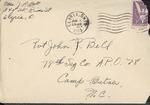 Jack P. Bell World War Two Correspondence #219