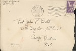 Jack P. Bell World War Two Correspondence #224