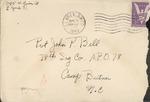 Jack P. Bell World War Two Correspondence #224