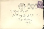 Jack P. Bell World War Two Correspondence #227