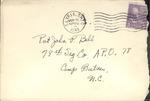 Jack P. Bell World War Two Correspondence #227