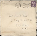 Jack P. Bell World War Two Correspondence #234