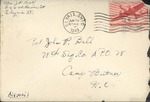 Jack P. Bell World War Two Correspondence #236