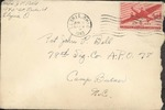 Jack P. Bell World War Two Correspondence #238