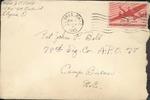 Jack P. Bell World War Two Correspondence #238