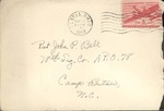 Jack P. Bell World War Two Correspondence #240