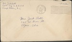 Jack P. Bell World War Two Correspondence #241