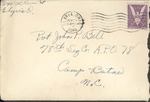 Jack P. Bell World War Two Correspondence #242