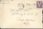 Jack P. Bell World War Two Correspondence #242
