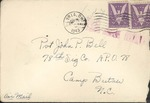 Jack P. Bell World War Two Correspondence #245
