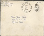 Jack P. Bell World War Two Correspondence #248