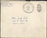 Jack P. Bell World War Two Correspondence #248