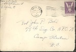 Jack P. Bell World War Two Correspondence #249