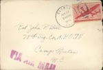 Jack P. Bell World War Two Correspondence #251