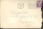 Jack P. Bell World War Two Correspondence #255