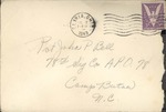 Jack P. Bell World War Two Correspondence #256