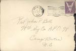 Jack P. Bell World War Two Correspondence #256