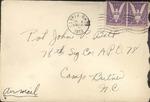 Jack P. Bell World War Two Correspondence #257