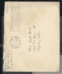 Jack P. Bell World War Two Correspondence #258