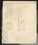 Jack P. Bell World War Two Correspondence #258