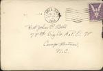 Jack P. Bell World War Two Correspondence #259