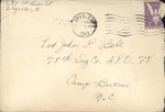 Jack P. Bell World War Two Correspondence #263