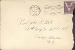 Jack P. Bell World War Two Correspondence #266