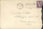 Jack P. Bell World War Two Correspondence #266