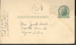 Jack P. Bell World War Two Correspondence #267