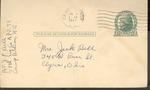 Jack P. Bell World War Two Correspondence #267