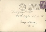 Jack P. Bell World War Two Correspondence #268
