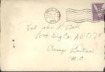Jack P. Bell World War Two Correspondence #271