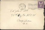 Jack P. Bell World War Two Correspondence #273