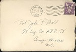 Jack P. Bell World War Two Correspondence #275